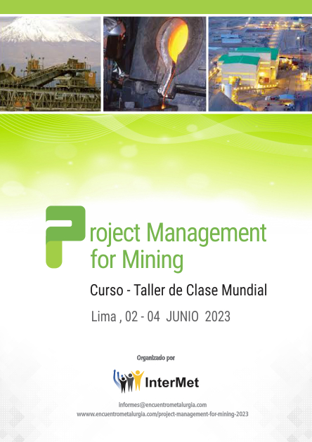 PROJECT MANAGEMENT FOR MINING 2020